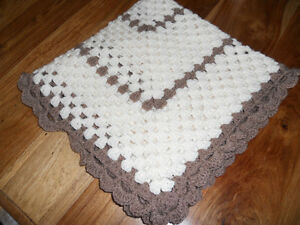 hand crochet  shawl/blanket