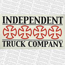 INDEPENDENT Trucks Company BLOK Logo Skateboard Sticker