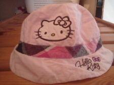 Bob Hello Kitty Rose Taille 50 avec élastique