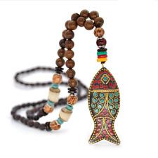 New Ethnic Bohemian Vintage Tribal Jewelry Handmade Fish Pendants & Necklaces