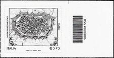 Italia 2013 - Mura rinascimentali di Lucca - Codice a barre 1558