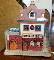 Lemax Christmas Village Kensington Depot House