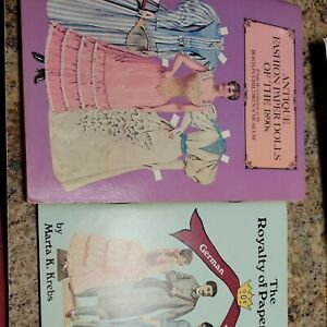 Lot 2 Royalty of Paper Dolls Antique Fashion of the 1890s Combined Shipping