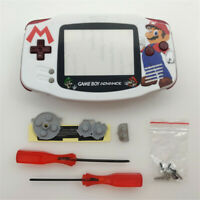 Limited Mario Shell Case Housing for Game Boy Advance GBA - White