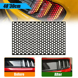 Car Rear Tail Light Honeycomb Sticker Exterior Accessories Taillights Lamp Cover
