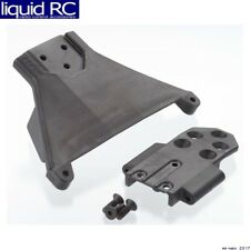 RPM R/C Products 73562 Front LCG Bulkhead; Blk: TRA SLH 4x4 & 1/10 Rally
