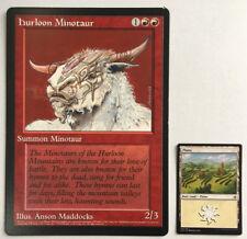 Hurloon Minotaur Oversized 6X9 - Arena Promo Card MTG Magic Giant Card