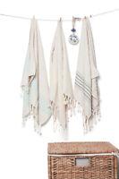 Set of 4, Linen Turkish Tea Towel,Dishcloths Face/Hand Towel, Kitchen Towel Set