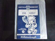 Sheffield Wednesday v Tottenham Hotspur 9/4/66. & v Burnley 12/4/66.