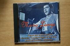 Mario Lanza - Live - Because You're Mine - Pop, Classical (Box C97)