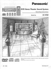Panasonic SA-HT80 Home Theater System Owners Instruction Manual