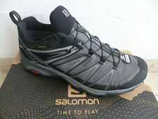 Salomon Trainers Low Shoes Sneakers Trainers X Ultra 3 Wide Grey Waterproof New