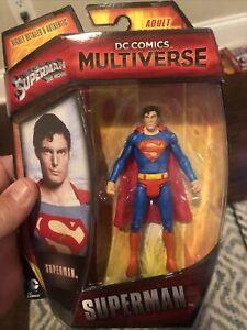 DC Comics Multiverse Superman The Movie Christopher Reeve Figure New 2014