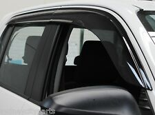 TOYOTA HILUX WEATHERSHIELDS SLIMLINE SET OF 4 TINTED DUAL CAB UTE ONLY JULY 15>