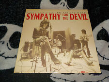 The Rolling Stones Sympathy For The Devil Laserdisc LD Free Ship $30 Order