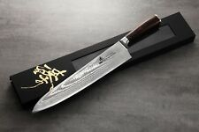 ZHEN Japanese VG-10 67 Layers Damascus Steel Dragon Gyuto Chef Knife 12-inch