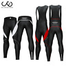 Bike Bicycle Bib Pants Cycling Bib Tights Racing Trousers 3D Padded Long Pants