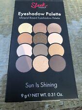Sleek MakeUp 12 Shades Mineral Based Eyeshadow Palette in Sun Is Shining travel