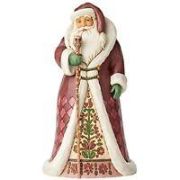 """Jim Shore Heartwood Creek 6004135 Regal Santa Claus Cane Figurine,Resin, 12.25"""""""