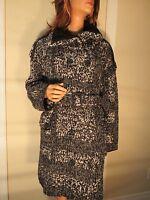 NWT WOMENS AUTHENTIC BURBERRY LONDON WOOL & ALPACA SWEATER COAT JACKET XL/XXL/16
