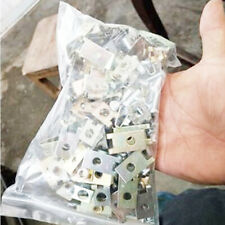 100pcs Car Gasket Clips Auto Fasteners Body Door Panel Trim Screw U Type Set Kit