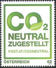 Austria 2011 CO2 neutral Post Entrega/Entorno/Conservation 1v (n42437)