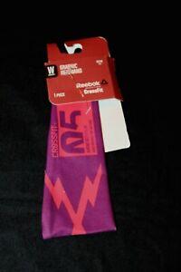 Reebok CrossFit Women's Purple/Pink Graphic Headband OSFW