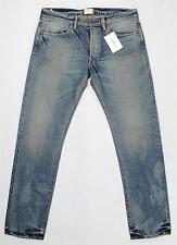 $345 Simon Miller Dayton Blue M002 Slim Distressed Selvedge Denim Jeans 30X34