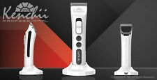 Kenchii Grooming - Flash™ Digital Cordless Clipper, Pearl Black or White 4 in 1