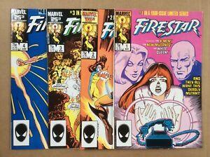 Firestar 1-4 Marvel 1985 1 NM 2 NM 3 NM 4 VF/NM