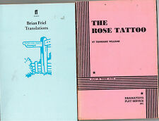The Rose Tattoo + Dancing at Lughnasa  + Translations by Brian Friel , 3 Scripts