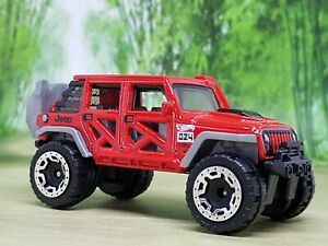 Hot Wheels '17 Jeep Wrangler Diecast Model - Excellent Condition