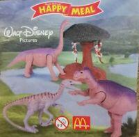 McDonalds Happy Meal Toy 2000 Dinosaur Plastic Toys - Various Figures