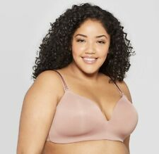Auden Women's Nursing Wirefree Bra 40DD Mauve *NEW*