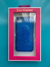 JUICY COUTURE Blue Lapis Gelli iPhone 4/4s Soft Case YTRUT228 NIB $28 Retail