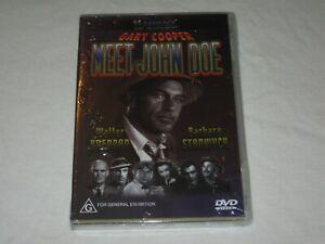 Meet John Doe - Gary Cooper - Brand New & Sealed - Region 4 - DVD