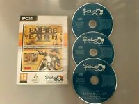 EMPIRE EARTH II 2 GOLD EDITION - PC GAME +THE ART OF SUPREMACY - COMPLETE - VGC