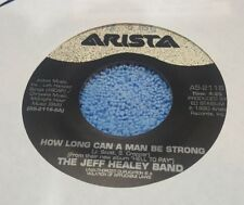 Jeff Healey Band, The ‎– How Long Can A Man Be Strong / Full Circle ~ (VG+)