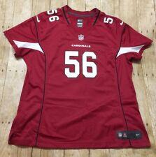 Arizona Cardinals Jersey Nike RARE #56 Donald Butler WOMENS Sz 2XL NFL Football