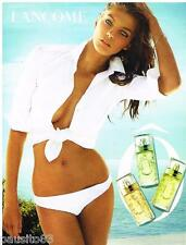 PUBLICITE ADVERTISING 105 2012  LANCOME  parfum femme O