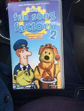 Fun Song Factory Vhs