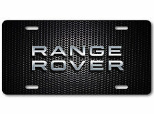 Range Rover LAND ROVER Aluminum Car Auto License Plate New British Carbon Bump