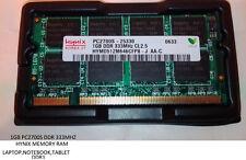 1GB RAM DDR 333MHz CL2.5 HYNIX HYMD512M646CFP8-J MEMORIA SODIMM LAPTOP NOTEBOOK