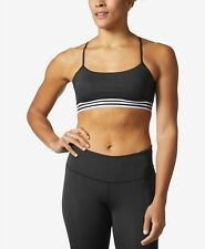 $99 Adidas Women's Black Climalite Light Support Compression Sports Bra Size XXL