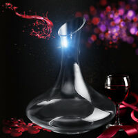 1.5L Luxuriou Crystal Glass Lead-free RED Wine Decanter Carafe Pourer Container