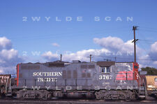 "Orig Slide Southern Pacific 3767 Gp9 1989 ""espee jeremy"" tag"