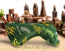 NATURAL HOT/COLD HERBAL EYE PACK/ MASK LAVENDER, ROSEMARY MINT,CUMIN