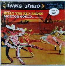 COPLAND / BILLY THE KID - MORTON GOULD - RCA 2195 - LIV. STEREO- REISSUE, SHRINK