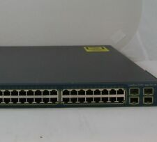 Cisco WS-C3560G-48PS-E Switch 15.0 &12.2 Layer 3 IOS 3560G Prt 9 no PoE WARRANTY