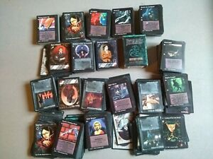 Jyhad Card Game Lot Vampire the Eternal Struggle VTES The Madquerate
